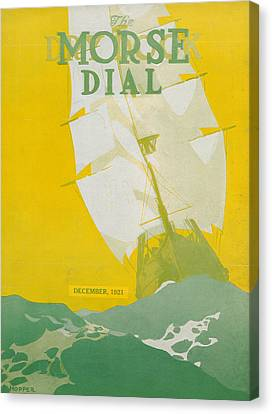 Morse Dry Dock Dial Canvas Print