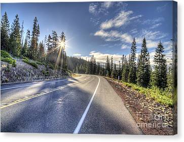 Sunriver Canvas Print - Mount Bachelor by Twenty Two North Photography
