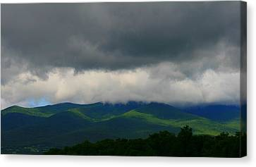 Mountain Flow  Canvas Print by Neal Eslinger