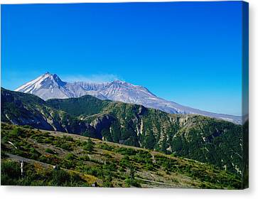Mt St Helens Canvas Print by Jeff Swan