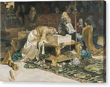 Mu�oz I Degrain, Antoni 1841-1924 Canvas Print by Everett