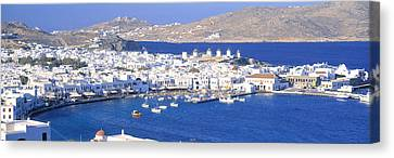 Mykonos, Cyclades, Greece Canvas Print