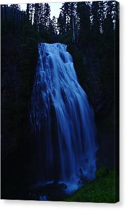 Narada Falls Canvas Print by Jeff Swan