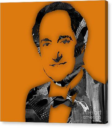 Musicians Canvas Print - Neil Sedaka Collection by Marvin Blaine