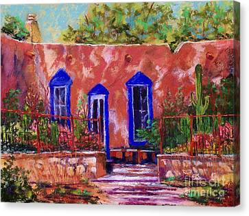 New Mexico Garden Canvas Print by Bruce Schrader