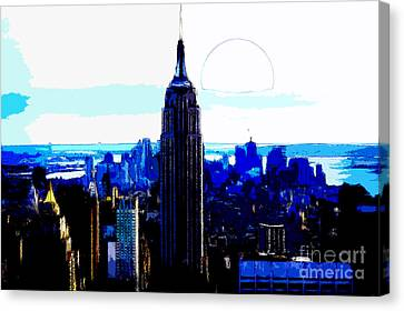 New York City Canvas Print by Celestial Images