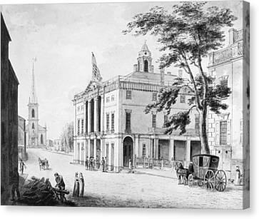 New York Federal Hall Canvas Print