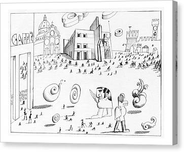 New Yorker October 7th, 1974 Canvas Print