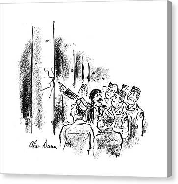 New Yorker September 30th, 1944 Canvas Print