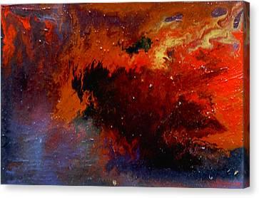 No Tittle Canvas Print by Min Zou