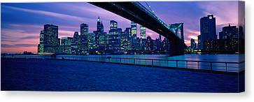 Nyc, New York City New York State, Usa Canvas Print by Panoramic Images