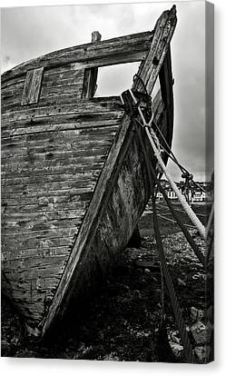 Old Abandoned Ship Canvas Print by RicardMN Photography