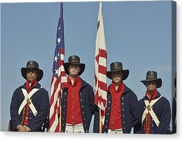 Honor Guard  Canvas Print