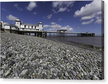 Penarth Pier 2 Canvas Print by Steve Purnell