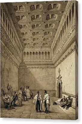 Perez Villaamil, Jenaro 1807-1854 Canvas Print by Everett
