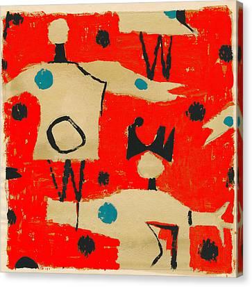 Petra Canvas Print - Petra James, Contemporary Modern Artist by Artokoloro