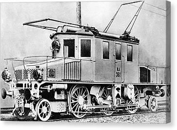 3-phase Locomotive Canvas Print