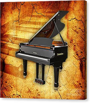 Piano Collection Canvas Print by Marvin Blaine