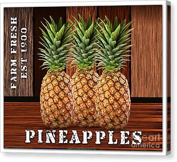 Pineapple Canvas Print - Pineapple Farm by Marvin Blaine