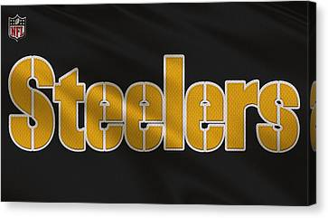 Pittsburgh Steelers Uniform Canvas Print