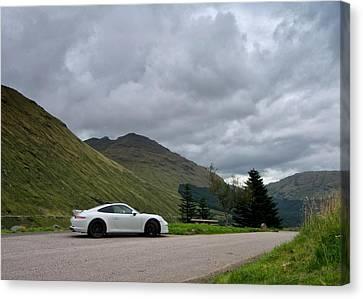 Porsche 911 Canvas Print by Stephen Taylor