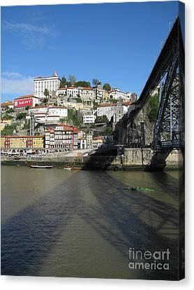Canvas Print featuring the photograph Porto by Arlene Carmel