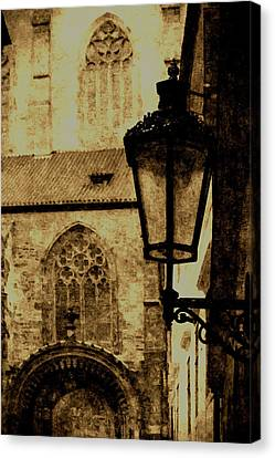 Prague - Old Town Canvas Print by Ludek Sagi Lukac