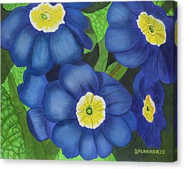 Prim And Proper Canvas Print by Donna  Manaraze