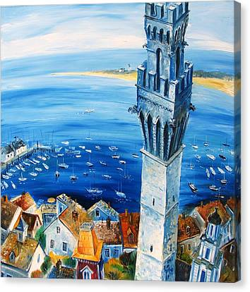 Provincetown Harbor Canvas Print