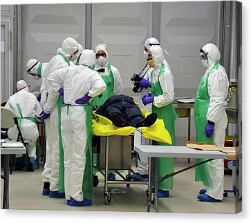 Radiation Emergency Response Training Canvas Print