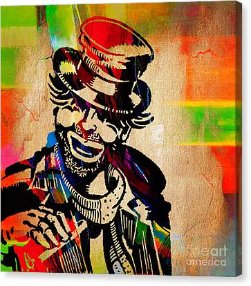 Red Skelton Collection Canvas Print