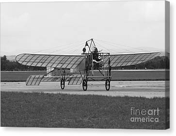 Replica Of The Wright Flyer Canvas Print