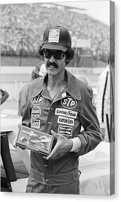 Richard Petty Canvas Print by Retro Images Archive
