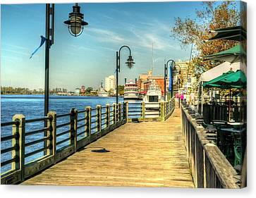 River Walk Canvas Print by Ed Roberts