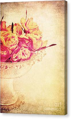 Romance Canvas Print by Angela Doelling AD DESIGN Photo and PhotoArt