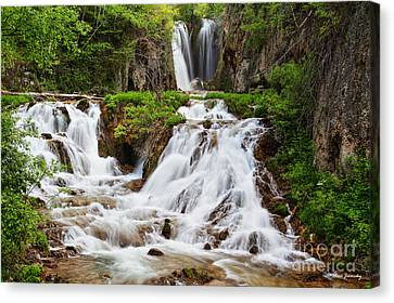 Roughlock Falls Canvas Print