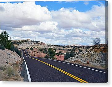 Route 12 - Utah Canvas Print by Dana Sohr