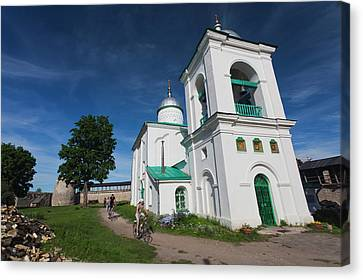 Russia, Pskovskaya Oblast, Stary Canvas Print