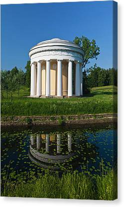 Russia, Saint Petersburg, Pavlovsk Canvas Print by Walter Bibikow