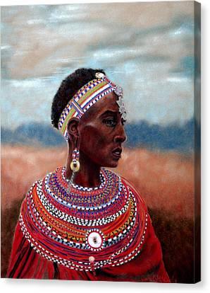 Samburu Woman Canvas Print