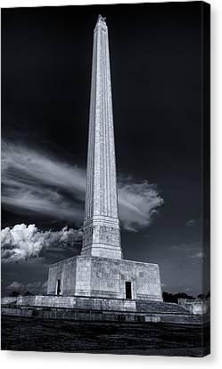 San Jacinto Monument One Sky One Star Canvas Print