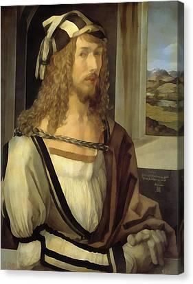 Self Portrait Canvas Print by Albrecht Durer