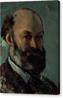 Self Portrait Canvas Print by Paul Cezanne