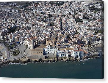 Sitges, Province Of Barcelona Canvas Print by Jordi Todó Vila