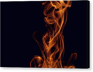 Smoke Canvas Print by Marek Poplawski
