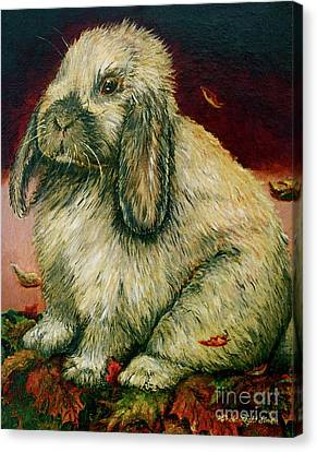 Some Bunny Is A Honey Canvas Print by Linda Simon