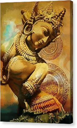 Dubai Gallery Canvas Print - South Asian Art by Corporate Art Task Force