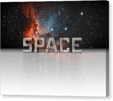Space Canvas Print by Phil Perkins
