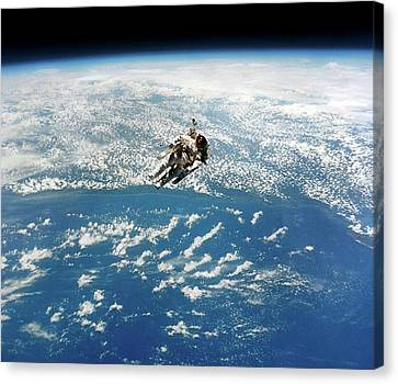 Space-walk Canvas Print