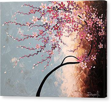 Spring Blossoms Canvas Print by Tomoko Koyama
